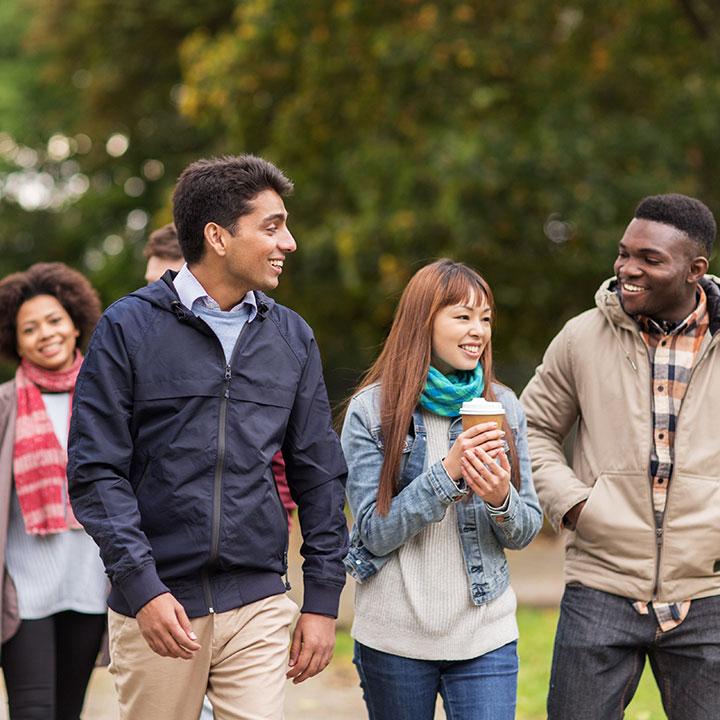 観光客、在留外国人が増えている